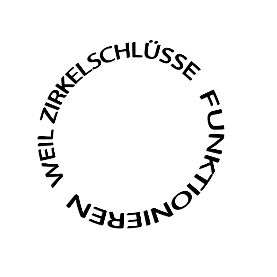 Zirkelschlüsse