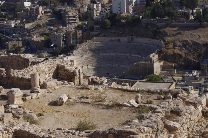 Amphitheater from ancient Philadelphia