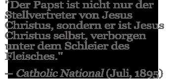 Catholic National Quote