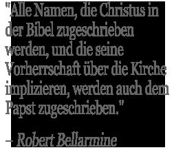 Robert Bellarmine Quote
