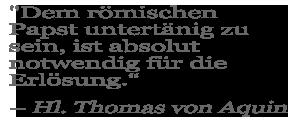 St. Thomas Aquinas Quote