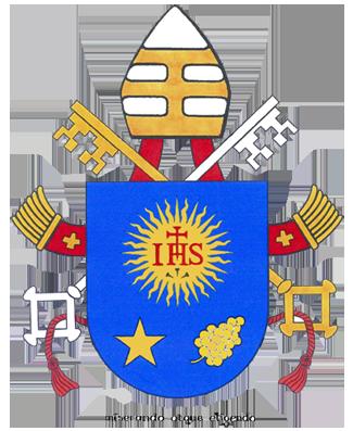 Blazonul militar al Papei Francisc l