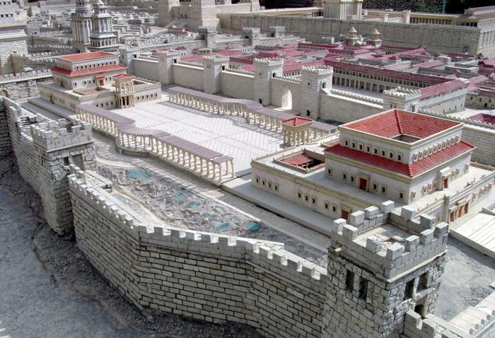 Model of Harod's Palace