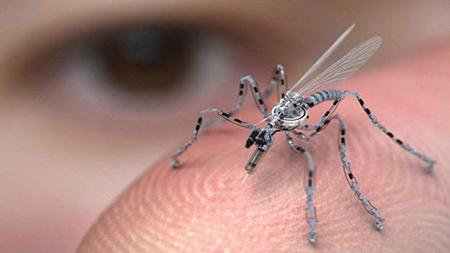 Eine Drohne des US Militärs sieht aus wie ein Insekt