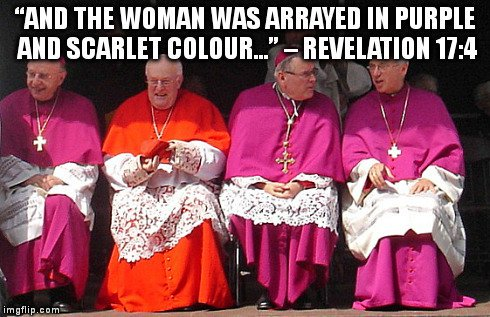 purple and scarlet - Revelation 17:4