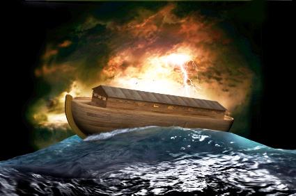 Noahs Arche: Sie veranschaulicht die Gerechtigkeit, die aus dem Glauben kommt