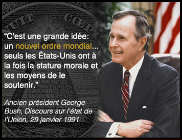 Nouvel Ordre Mondial - George Bush