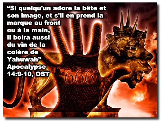 666, la marque de la bête, nouvel ordre mondial