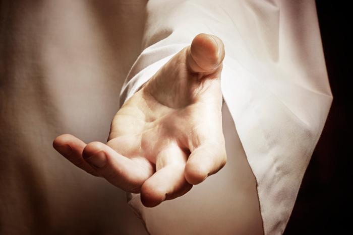 Yahushua hält Dir seine rettende Hand entgegen.