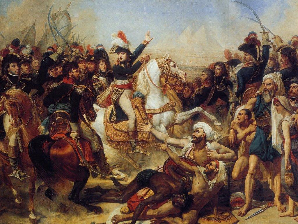Baron Antoine-Jean Gros: Schlacht bei den Pyramiden 1810.