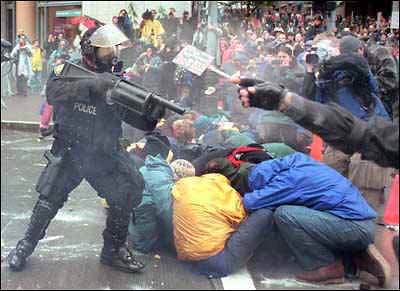 Amerika – ein Polizeistaat