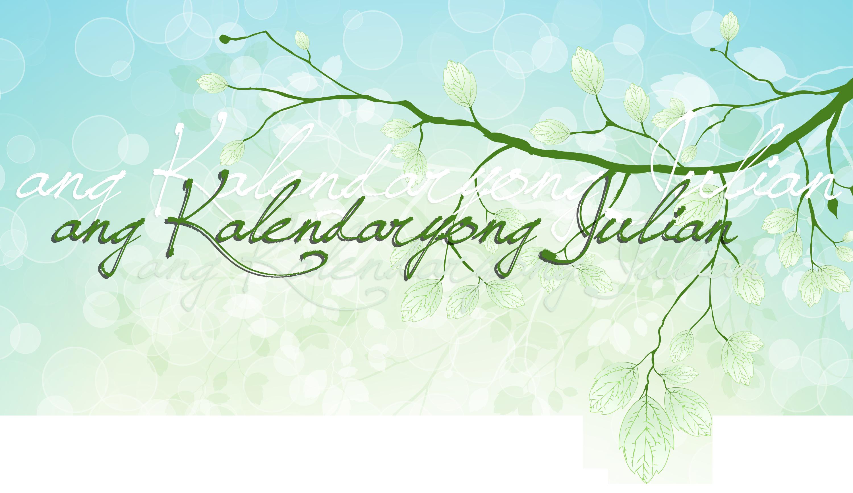 Ang Kalendaryong Julian