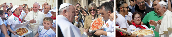 pope and pizza