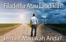 Tinggalkan jemaat Laodikia: Jadilah jemaat Filadelfia