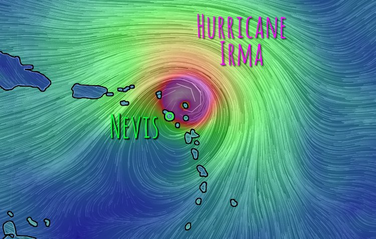 Hurricane Irma and Nevis