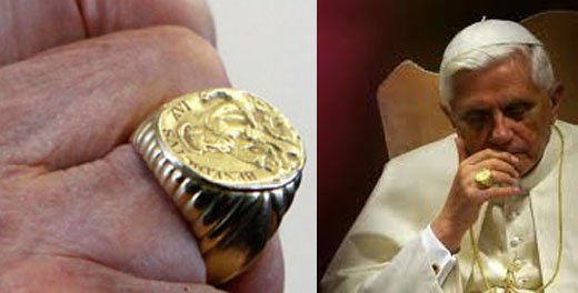 benedict and the fisherman's ring