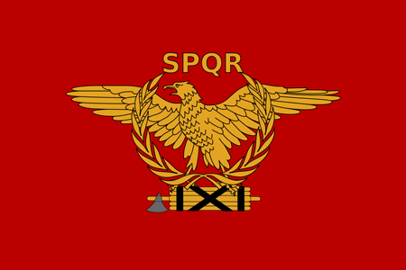 العلم الروماني الوثني