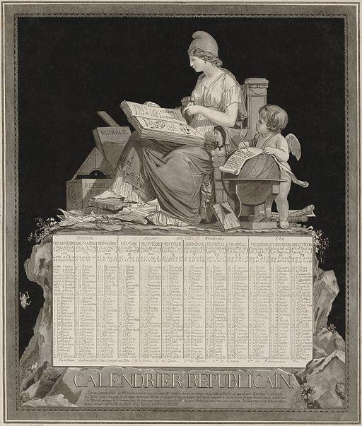 Kalendář Francouzské republiky