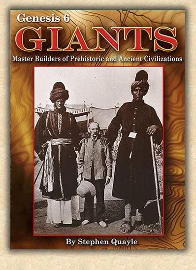 Une encyclopédie des géants, par Stephen Quayle