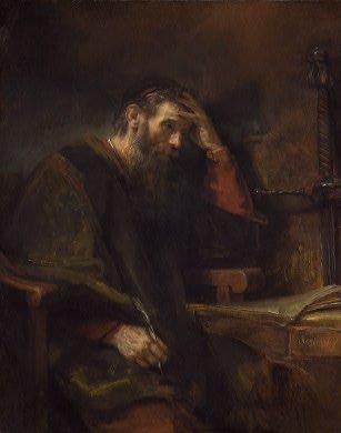 Obra Maestra ni Rembrandt kay Apostol Pablo
