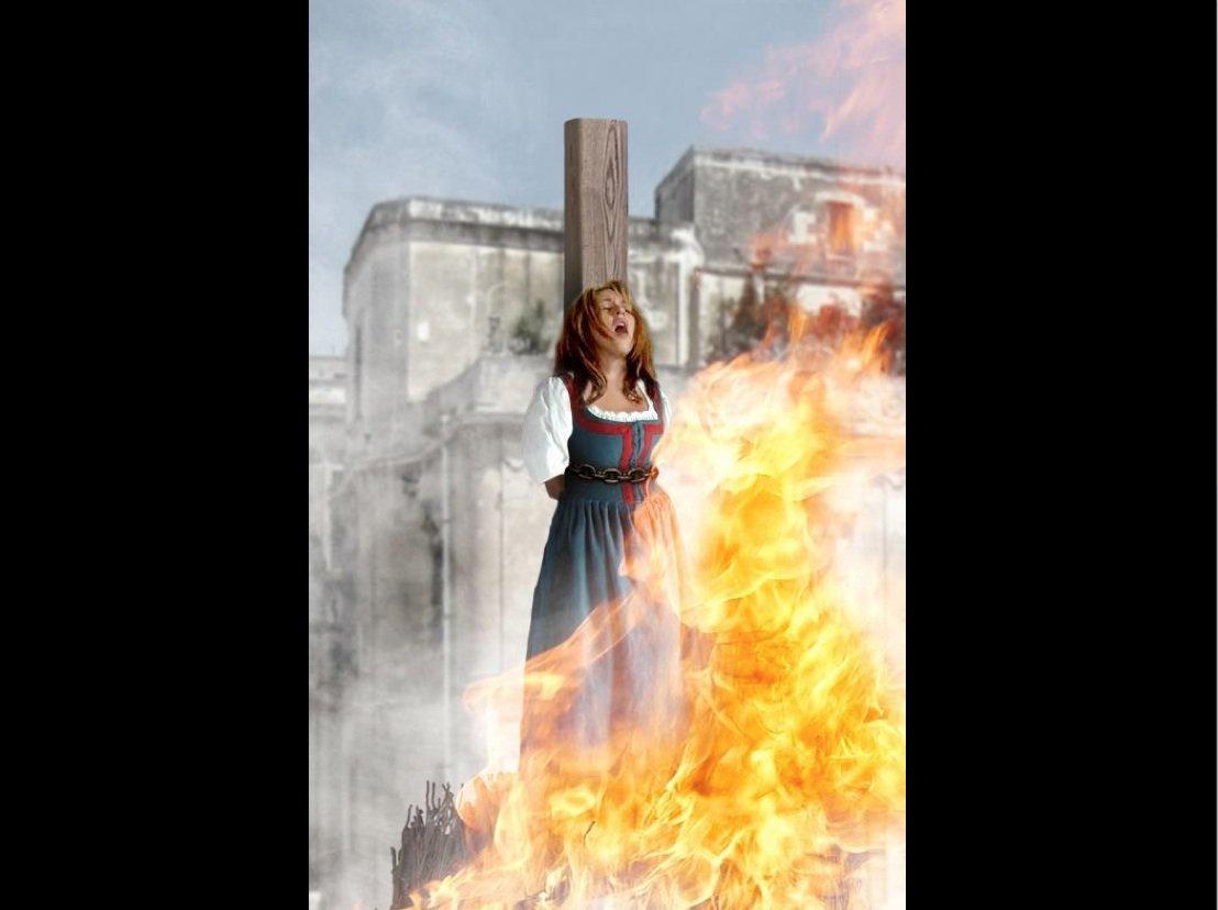 حرق على الوتد