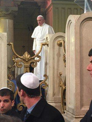 papež František a Židé