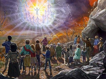 La Seconde Venue / Le Retour du Sauveur Christ Yahushua en gloire avec Ses anges