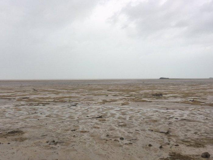 圣巴特岛在厄玛飓风之后