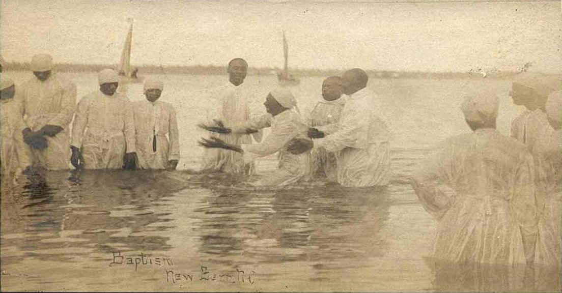 河裡的洗禮