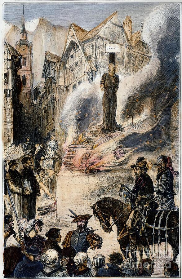 أحرق مايكل سيرفيتوس حيًا على الوتد