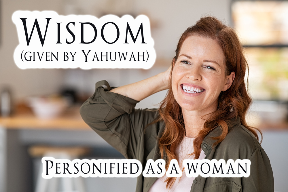 wisdom as a woman