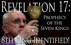 prophecy of the seven kings - 8th king, john paul ii, pope bendict xvi