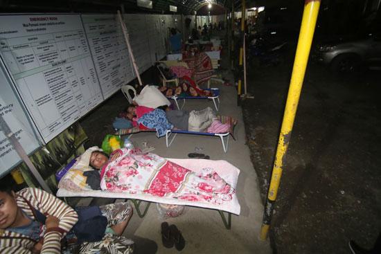 عدد من المصابين فى الفلبين