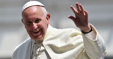 """فى أول زيارة لـ""""حبر أعظم"""".. بابا الفاتيكان يزور كنيسة جميع القديسين"""