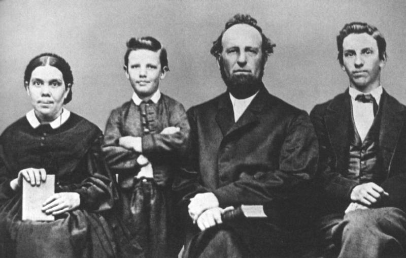 إلين وايت، جيمس وايت، والأسرة