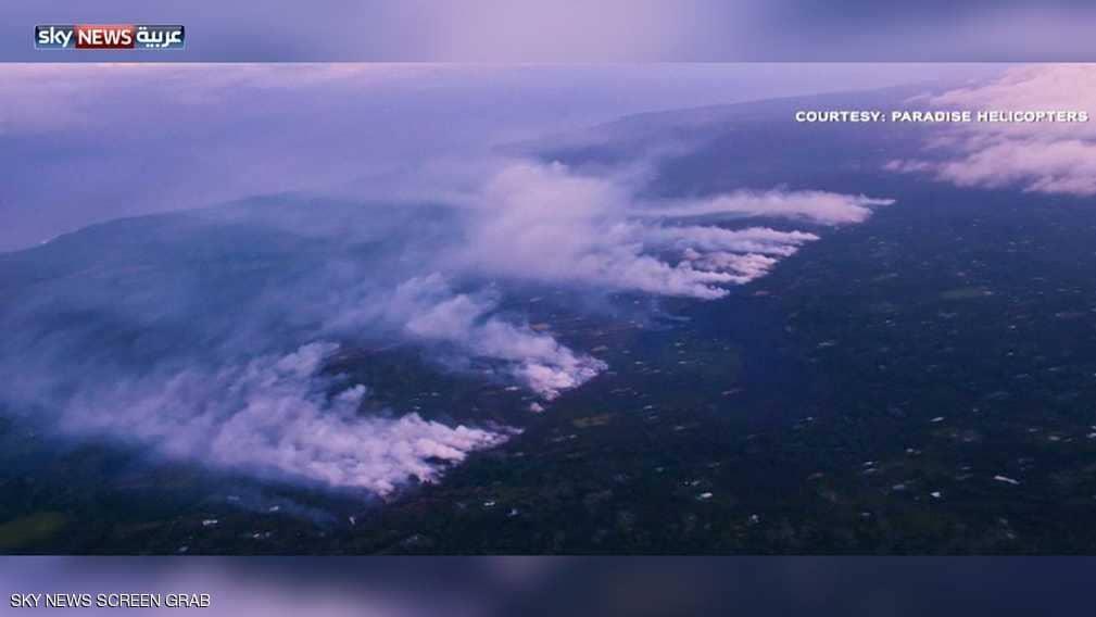"""تحذير من """"عنف"""" بركان هاواي"""