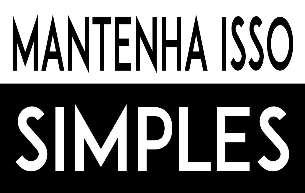 Mantenha Isso Simples