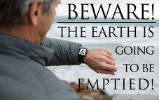 Beware! The Earth is going to be Emptied!
