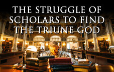 The Struggle of Scholars to Find the Triune God