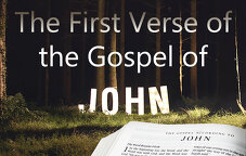 The First Verse of the Gospel of John