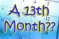 A 13th Month?? The Divine Precision of the Luni-Solar Calendar