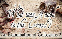 What was Nailed to the Cross? An Examination of Colossians 2