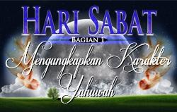 Hari Sabat | Bagian 1 – Mengungkapkan Karakter Yahuwah