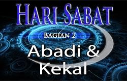 Hari Sabat | Bagian 2 – Abadi & Kekal