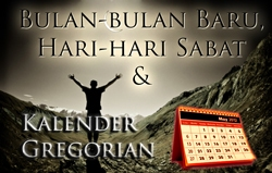 Bulan-bulan Baru, Hari-hari Sabat & Kalender Gregorian