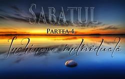 Sabatul | Partea 4 – Închinare individuală