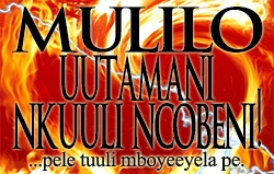 Mulilo Uutamani Nkuuli Ncobeni!