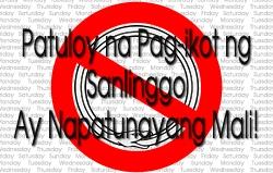 Patuloy na Pag-ikot ng Sanlinggo ay Napatunayang Mali
