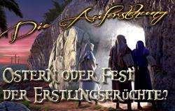 Die Auferstehung: Ostern oder Fest der Erstlingsfrüchte?