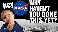 Hey NASA! Why Isn't There A Camera On The Moon Filming Earth?
